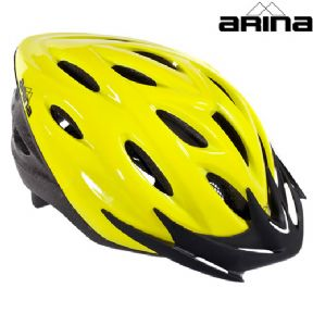 Arina Urbano cycle helmet Fluoro yellow